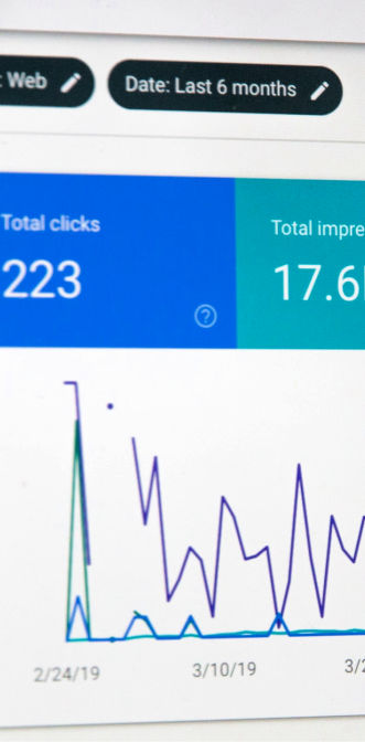 SEO analysis using Google Search Console
